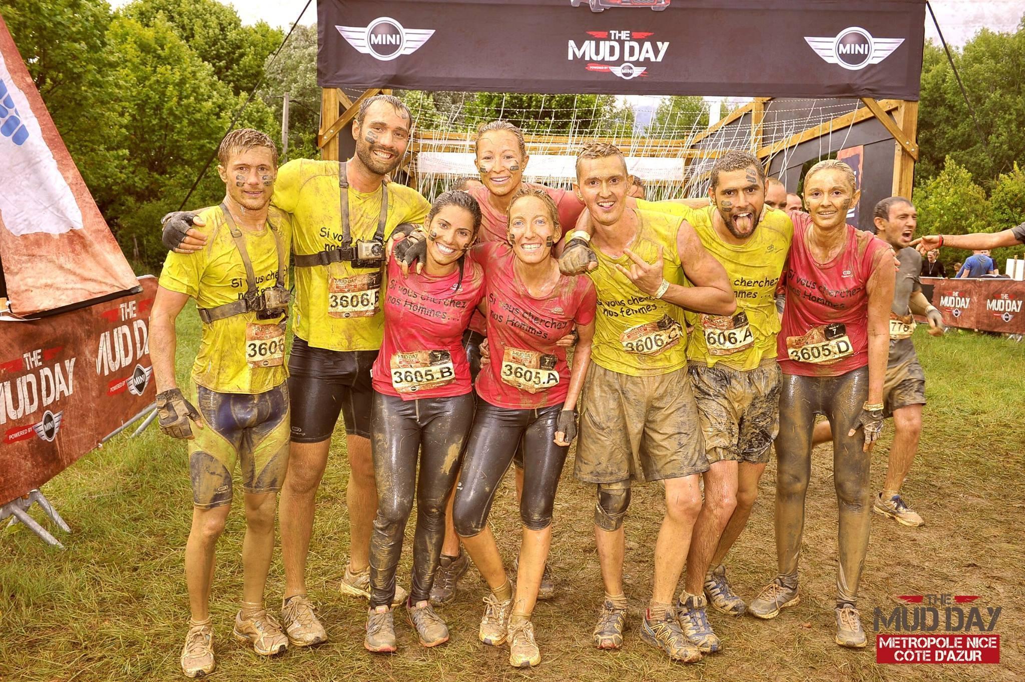 75217f84d35d Marine partage son expérience à la Mud Day 2015 de Nice !